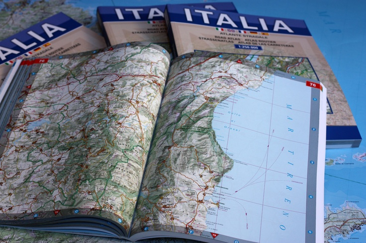 The Brand New Road Atlas of Italy - 1:250,000 scale  With a completely renewed grafics and a beautiful and updated cartography.  The pleasure of traveling around Italy, really knowing where you are!