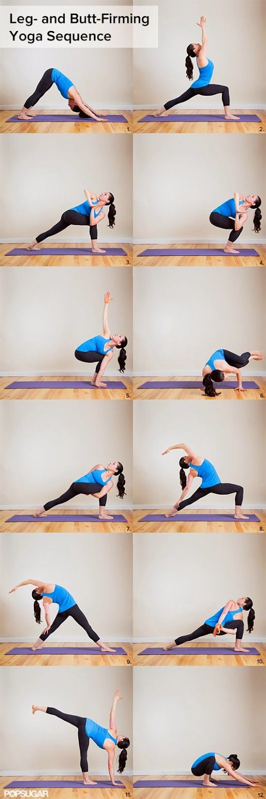 Leg and Butt firming yoga sequence          #yoga           http://www.atalskinsolutions.com/