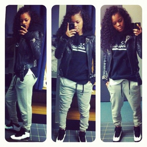 "outfits for jordans | Sneaker Me Dope: Teyana Taylor Rocking Air Jordan 10 ""Chicago"" 