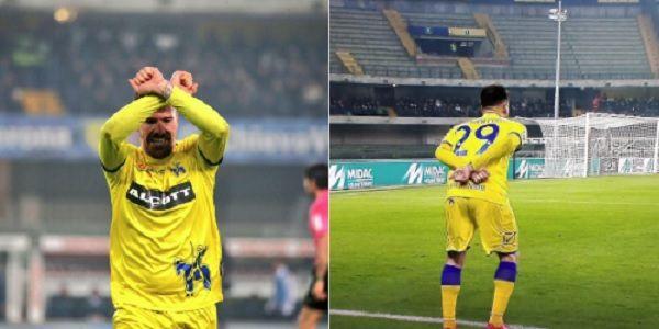FOTO - Incredibile a Verona, doppia espulsione per il Chievo contro la Juve: Cacciatore fa il gesto delle manette!