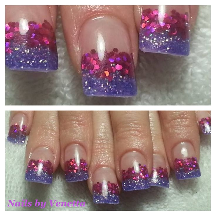 The 157 best Acrylic - Nails by Venetta images on Pinterest | French ...