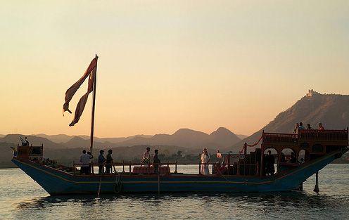 Take me there.  Taj Lake Palace.  Udaipur, India.