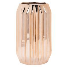 Living & Co Vase Geo Copper 14cm x 23cm