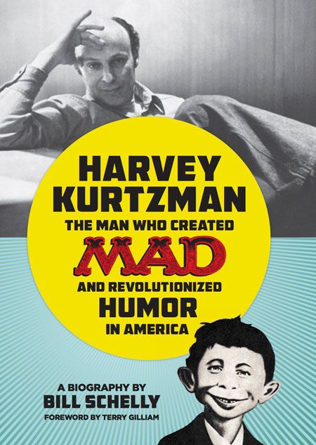 Coming soon! The only Kurtzman bio you'll ever need. Beautiful design and in depth research on the man behind MAD Magazine http://www.fantagraphics.com/index.php?option=com_myblog&show=Harvey-Kurtzman-The-Man-Who-Created-MAD-and-Revolutionized-Humor-in-America---Cover-Uncovered.html&Itemid=113
