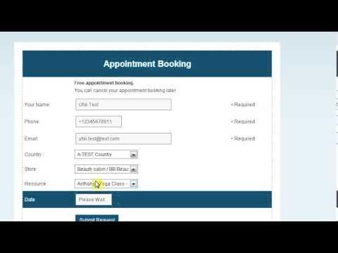 ufixi.com reception desk software video