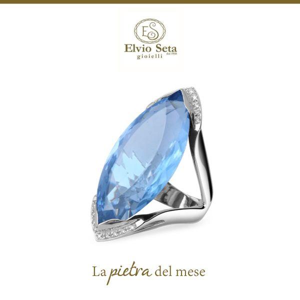 |E TU DI CHE #PIETRA SEI?| La pietra del mese di #Dicembre è il #Topazio #Blu.