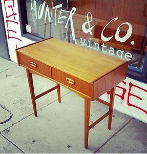 Vintage Genuine Parker Hall OR Console Table MID Century Fler Danish Gplan Retro in VIC | eBay $895