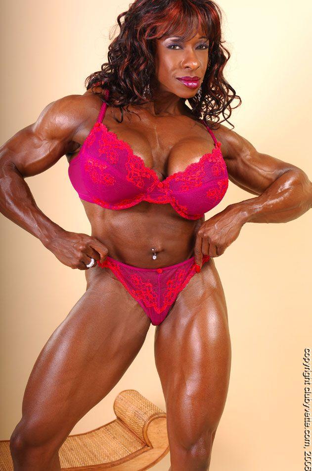 Yvette bova hot | Female Muscles | Black fitness, Fit ...