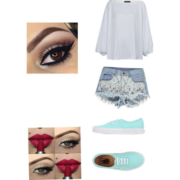 Lazy day at home by fivesaucescondiment on Polyvore featuring polyvore, fashion, style, The Row, Boohoo and Vans
