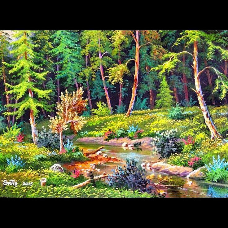 ✨ORMAN ✨ 50x60 Tuval Üzeri Yağlı Boya.  #resim #tablo #sergi #resimsergisi #ressam #yağlıboya #oilpainting #sanat #ankara #izmir #istanbul #art #artwork #fineart #vscocam ✨Bu Esere Sahip Olmak İçin; Okan Sartaş 05074409494✨ #drawing #canvas #ig_turkey #turkeyinstagram #turkeyartist #artofdrawing #ig_art (satıldı)