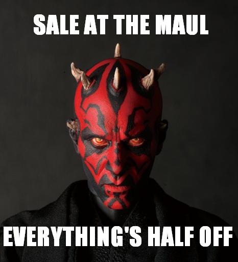 half off sale
