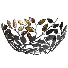 Amber Leaf Bowl - Pier 1. I love this and it goes with the leaf pattern dinnerware I liked too.