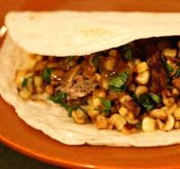 recipes for tacos images | Taco Recipes - Fresh Corn Tacos Recipe