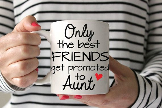 Only the Best Friends get Promoted to Aunt by LoveYouALatteShop