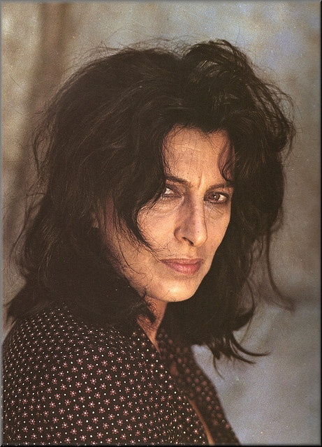 Anna Magnani, Italian actress. Best Actress Academy Award winner 1955 for the Rose Tattoo.