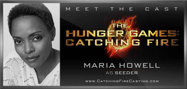 Welcome Maria Howell as Seeder to the cast of The Hunger Games: Catching Fire! Read more at http://www.CatchingFireCasting.com