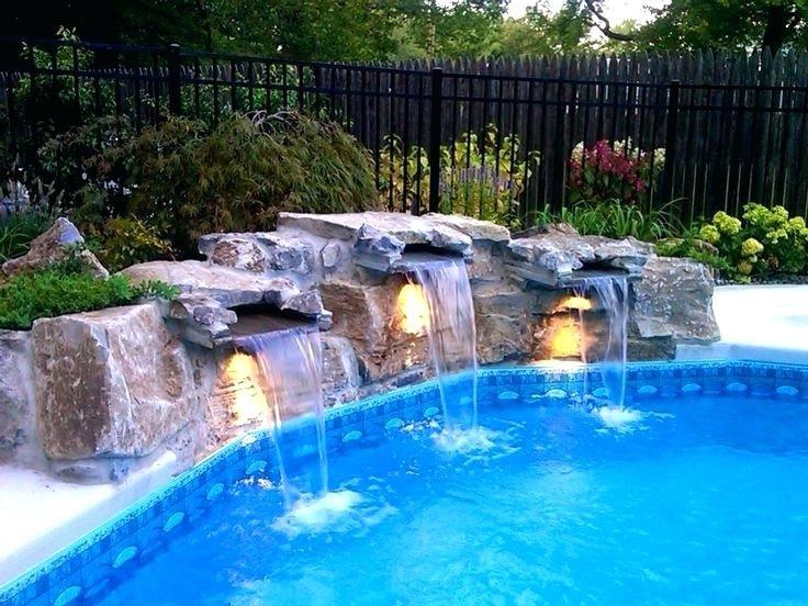 Pool Waterfall Ideas On Pinterest