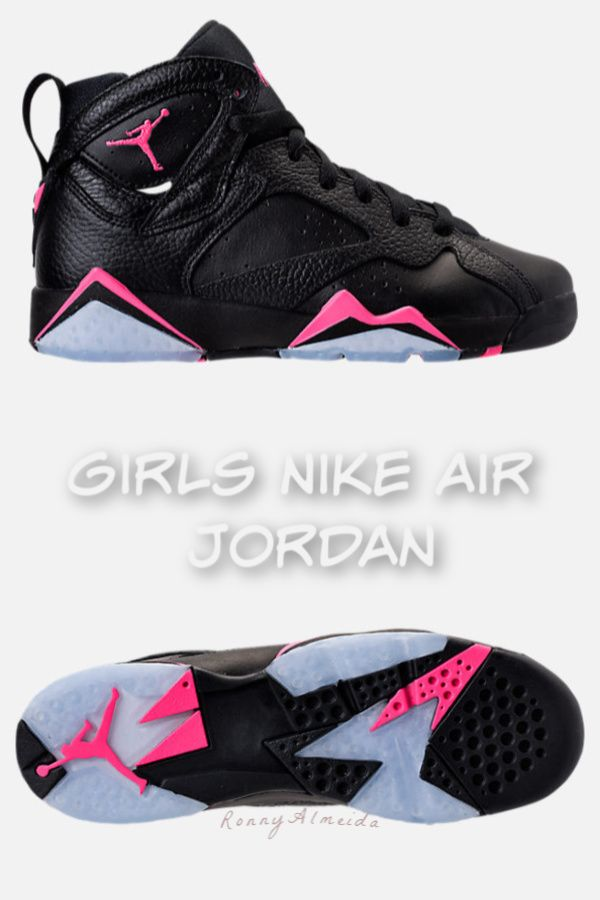 8f0086b2da76 Girl s Nike Air Jordan Retro 7 basketball running shoes! Style and  performance for girls. Back to school item to add to the shopping list!