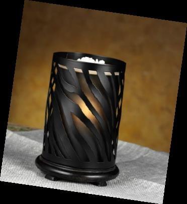 Zebra Simmering Lights Shade