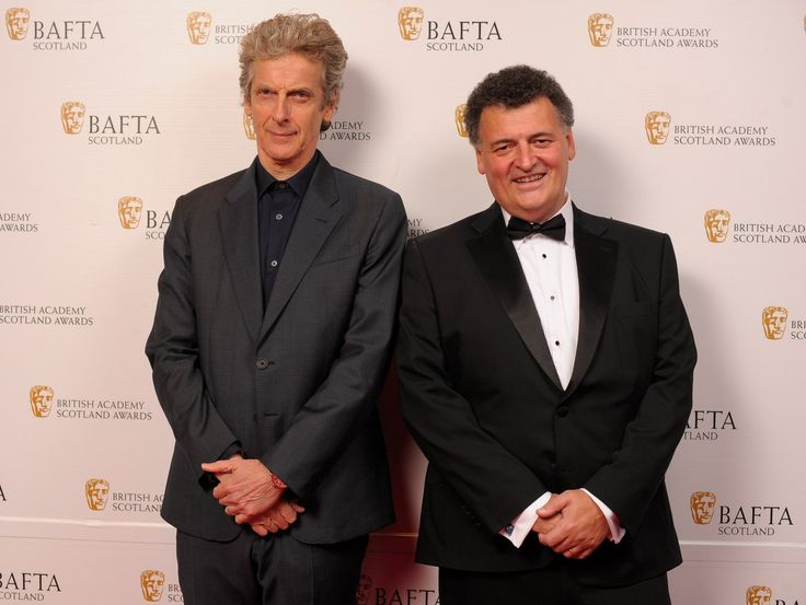 Great Scot(s)! It's the Doctor & the Showrunner at #BAFTAScot16. What does #TBT even mean to a time traveller? #DoctorWho #PeterCapaldi  Peter and Steven at the 2016 Scottish BAFTAs.