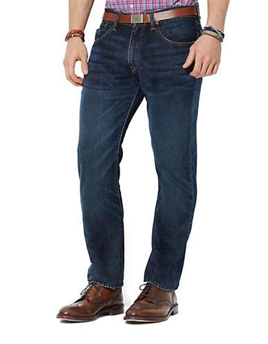 Straight-Fit Morris Jeans by Polo Ralph Lauren at Style Cross, (Polo Ralph Lauren) online shopping