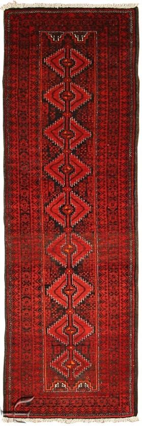 Central Asian Rug - Beluch Carpet Width 62.00 cm (2,03 Feet) Lenght 197.00 cm (6,46 Feet)