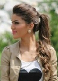 Ponytail Hairstyles For Frizzy Hair Curly Hairstyle