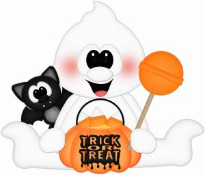 Silhouette Design Store - View Design #68114: trick or treat ghost & bat pnc
