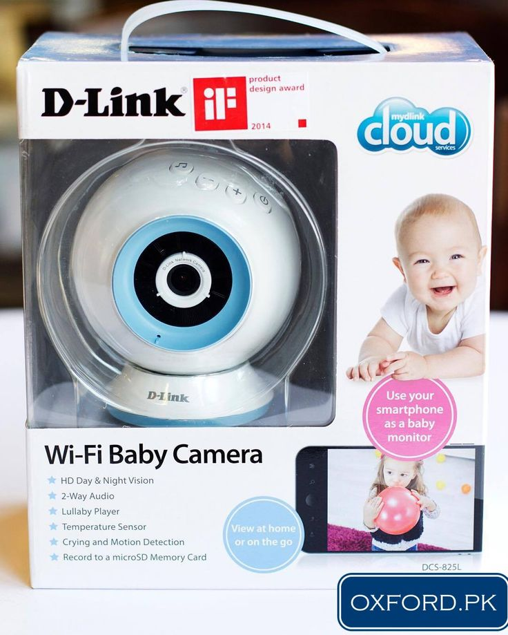 D-Link Wifi Baby Camera, Monitor your Baby via Smartphone.