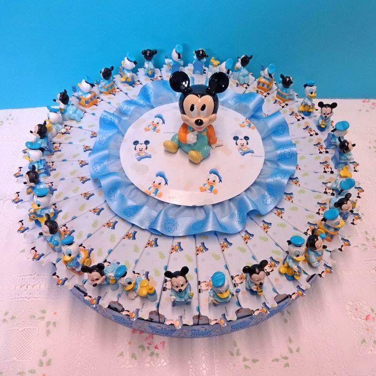 Italian Favor Cake with Disney Mickey Mouse, 32 boxes http://www.tortebomboniere.com/bomboniere/walt-disney-favor-cake.html