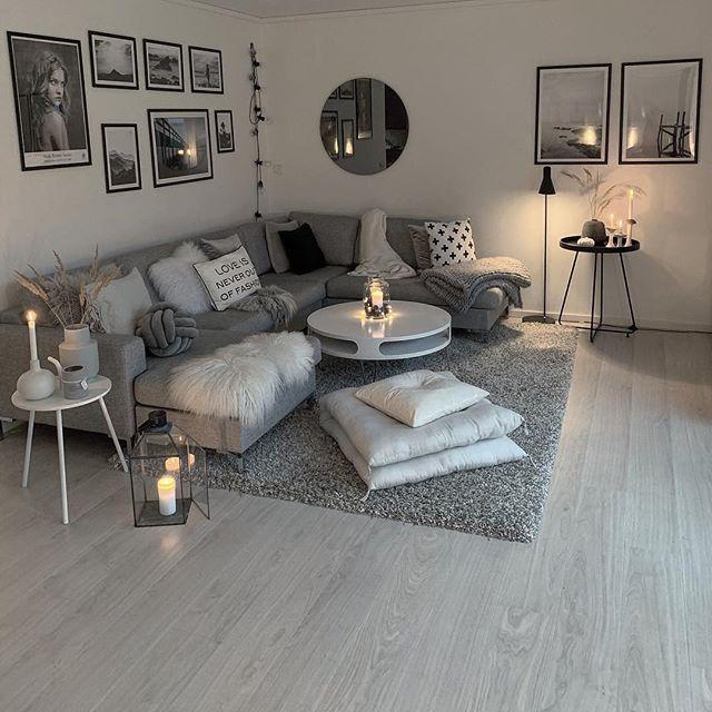 Skandinaviskehjem Hashtag On Instagram Photos And Videos Small Apartment Decorating Living Room Living Room Decor Apartment Small Apartment Living Small apartment room decorating ideas