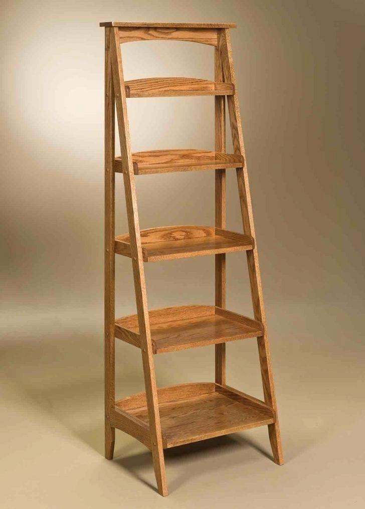 Shelves Ladder Shelf Metal Leaning Bookcase Wooden Step Style Storage Industrial Bathroom Argos Lamdepda