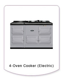 The 4-oven electric model has all the features and functionality of the 4-oven model with lower running costs.