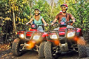 Cozumel ATV & Snorkel Tour takes you to discover the jungles of Cozumel on a fast ATV. You'll head to the beach on your ATV and take a guided snorkel tour from the beach with our professional tour guide.
