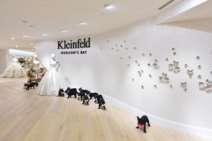 Kleinfeld Hudson's Bay Hudson's Bay Queen Street Toronto This match made bridal shopping heaven. Visit City Lighting Products! https://www.linkedin.com/company/city-lighting-products
