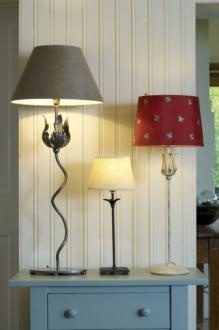 Portabello, Higham and Tulip Table Lamp made by Jim Lawrence