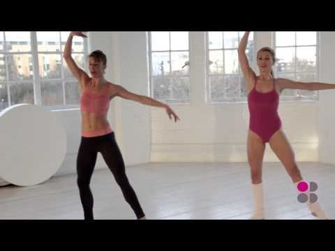 Sweaty Betty Ballet Bootcamp - Get Fit 4 Free - YouTube