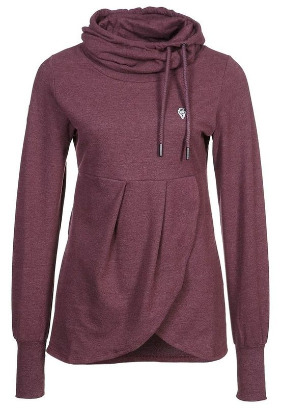 LOVE and more flattering than the average sweatshirt.