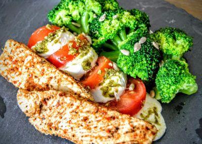 10-Minuten-Abendessen-6-hoch  – Lebensmittel mit wenig Kohenhydrate