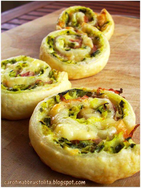 Ricetta Girelle di zucchine, formaggio e speck