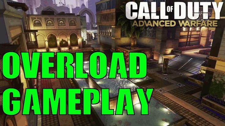 COD Advanced Warfare Reckoning DLC 4 Overload Gameplay