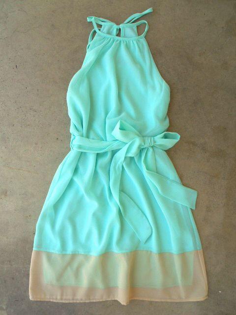breezy shoreline dress.