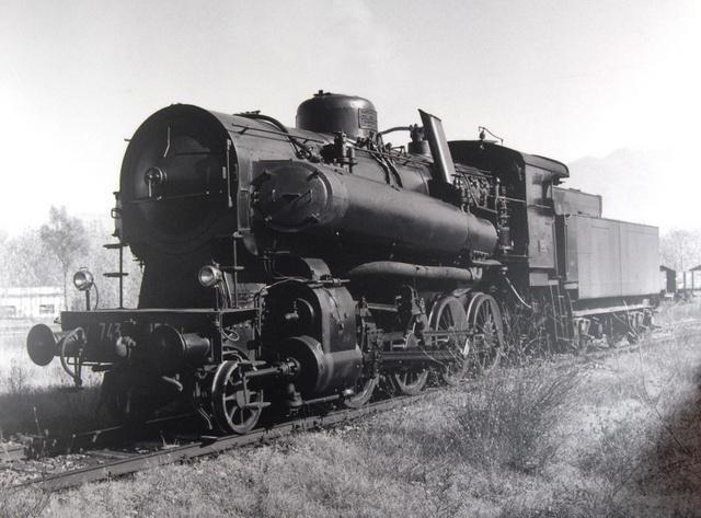 Potente locomotiva a vapore by Ferrovie dello Stato, via Flickr