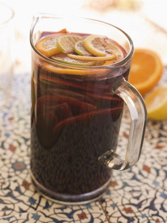 Sangria. Recipe: http://wonderdump.com/sangria/