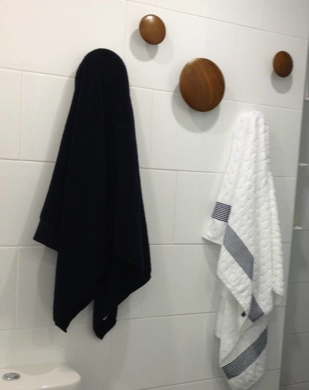 Mutto dots for towels http://www.eyecandyinteriors.com.au/ensuite.html