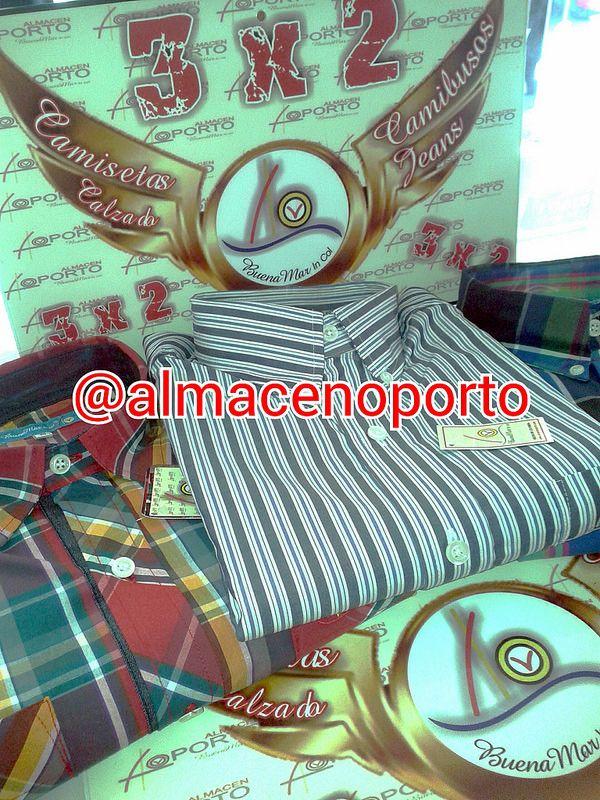 3X2 Promociones 2+1 @almacenoporto Camisas #BuenaMar #Cartago #Pereira @BuenaMarJeans
