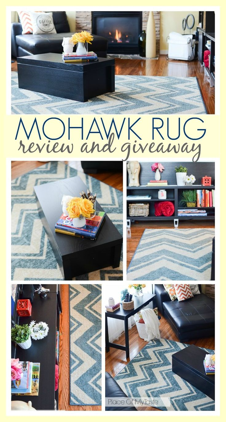 MOHAWK RUG REVIEW & GIVEAWAY -