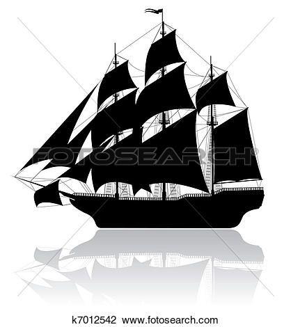 μαύρο, αγαπητέ μου, πλοίο Δείτε Γραφικό Κλιπ Αρτ Μεγάλου Μεγέθους