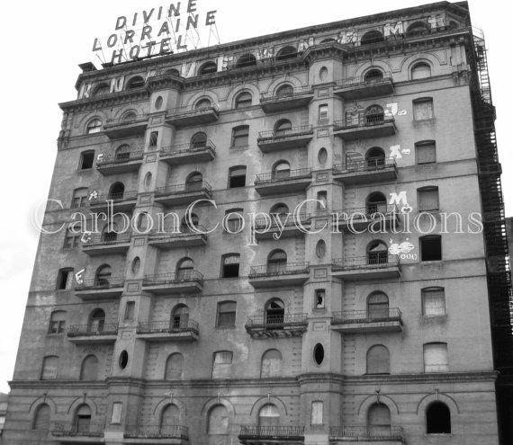 Divine Lorraine Hotel Print (Historic Philadelphia Hotel)