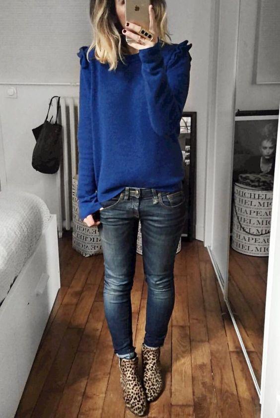 Come abbinare jeans e stivaletti in autunno inverno